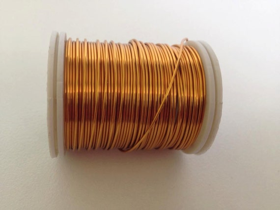 24 gauge artistic wire craft supply copper wire dark gold for 24 gauge craft wire
