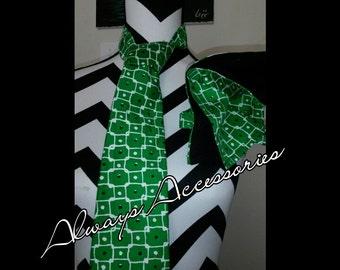 Green Tie Set