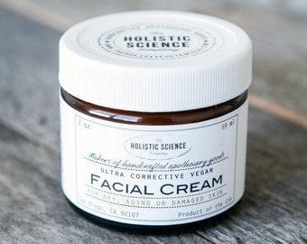 Ultra Rich Corrective Facial Cream - 100% VEGAN and FRAGRANCE-FREE