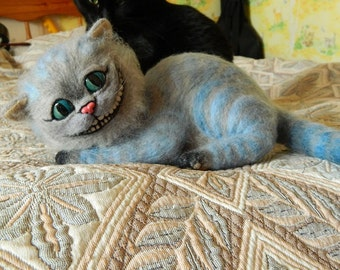 Cheshire Cat (felted edition)