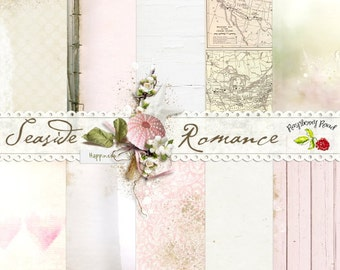 Seaside Romance Paper Set