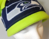 Seahawks Fleece Hat, show your support for our NFC Champs, Go Hawks