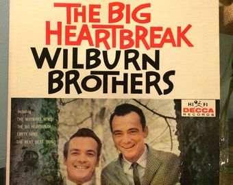 Wilburn Brothers The Big Heartbreak Album Hi Fi Decca Records Vintage LP Vinyl Record VG++