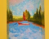 Floating on Lake