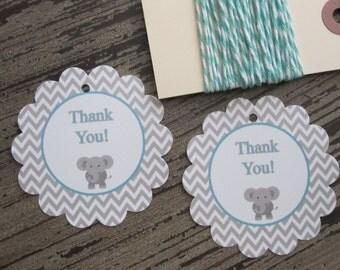 Elephant Gift Tags (12)