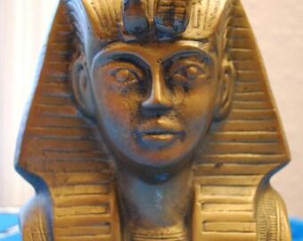 1950s BRASS KING TUT Tutankhamun