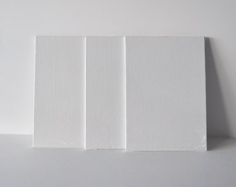 Painting Canvases Canvas Art Canvas 5x7 canvas Art Supplies Painters Canvas set of 3