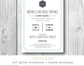 Easton RR | Corporate Cocktail, Birthday, Engagement Party  | Printed or Printable by DarbyCards