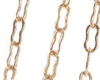 10K GP Small Peanut Chain, 10'