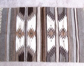Handwoven woolen rug, Artisan made, 36 by 24 inches - 15