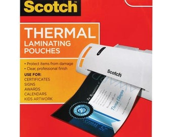 Laminating Sheets For Thermal Laminating, For Use With Thermal Laminator - Laminate Yourself - Teachers Resources - Kids Education/Learning