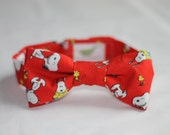 Snoopy & Woodstock Peanuts Infant/Baby/Toddler Bow Tie and/or suspenders - Great Photo Prop, Cute for Weddings, Cake Smashing