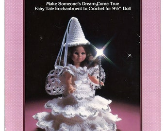 Fairy Godmother Crochet Doll  Pattern Fibre Craft FCM 160