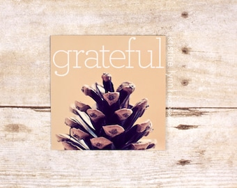 grateful refrigerator magnet, still life photography, home decor, photo magnet, nature, photography, magnets
