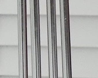 Metal Wind Chime Set of 4 Chimes - Longest is 6""