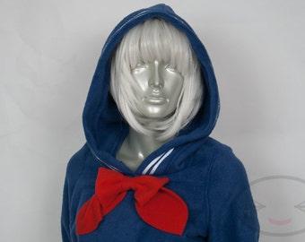 Navy Sailor Hoodie