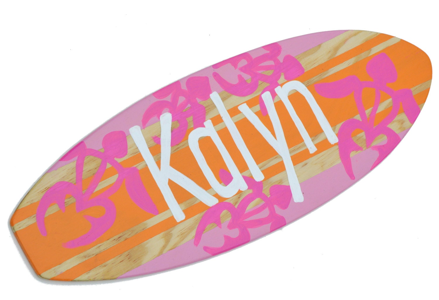 Surfboard Wall Art, Personalized Beach Signs, Surfer Girl Decor ...