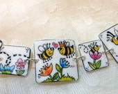 Bees: A Love Story Bracelet