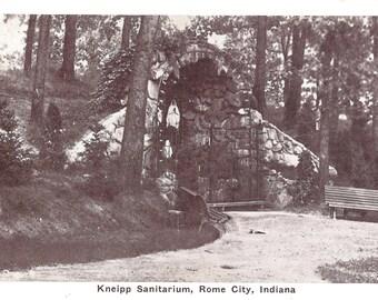 Vintage Postcard....Kneipp Sanitarium, Rome CIty, Ind....Used...no. 2223