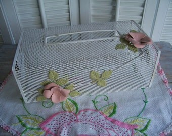 Shabby Chic tissue box- Free Shipping