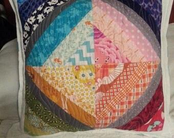 Rainbow pillow cover