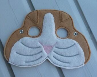 Felt Guinea Pig Mask