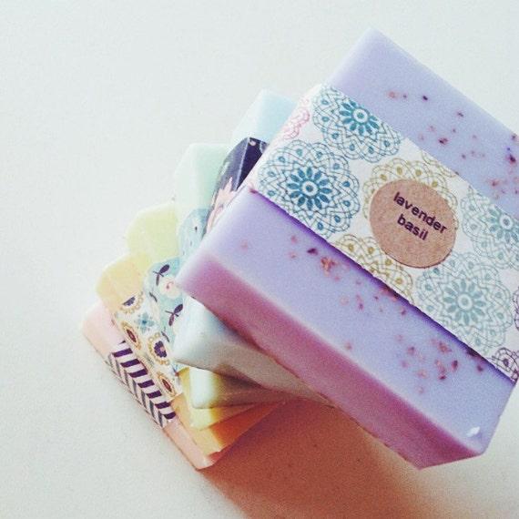 Lavender Basil Soap