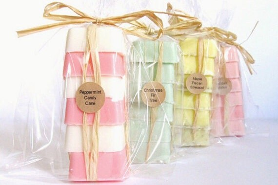 Soap Wedding Favors Set of 6 - Bridal Shower - Party Favors - Bridesmaids Gift - Rustic Wedding - Custom Wedding Favors