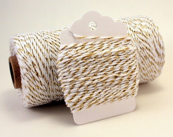 Gold Baker's Twine . Gold Metallic Divine Twine . New Year's Twine . Sparkly Twine . Gold Divine Twine . Choose Any Number of Yards