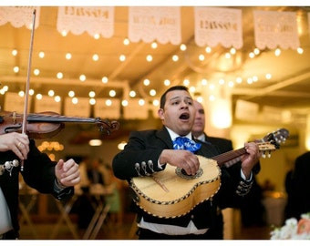Wedding Papel Picado Banner - Personalized