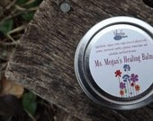 Wild-crafted herbal all-purpose healing balm - Ms. Megan's 2oz