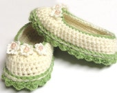 Booties converse tennis trainers shoes slippers footwear crochet baby infant toddler girl 12 -24 months #B026