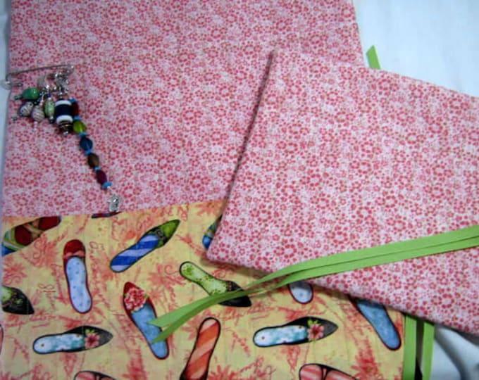 Fancy Shoes Knitting Crochet Needles Rolls Organizer Set, JDCreativeHands