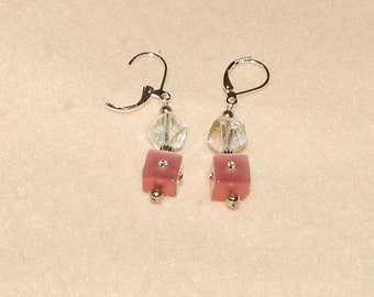 Pink, Crystal & Silver Removable Stitch Markers