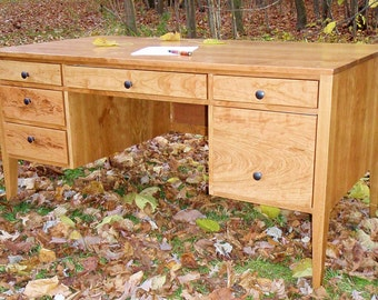 Federalist Style Cherry Desk **Makeru0027s Favorite Desk 2014**