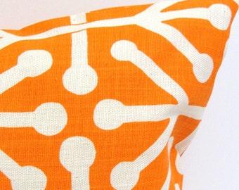 ORANGE PILLOW SALE.12x16 or 12x18 inch.Pillow.Lumbar Pillow Cover.Decorative Pillows.Housewares.Orange Pillow.Orange Cushion.Home Decor.cm