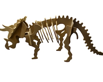 Large Triceratops Puzzle Kit