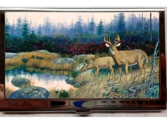 Middle of Nowhere (Randy McGovern) Business Card Holder