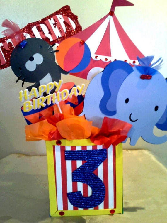 Circus Birthday Party Table Decorations | Birthday Wikii