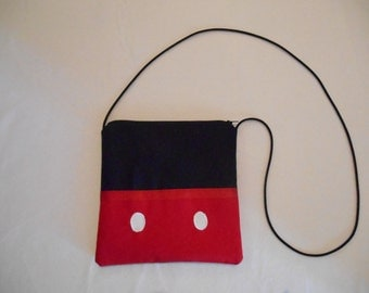 Disney Inspired  cross body bag/small purse/ Mickey mouse bag/ Mickey purse