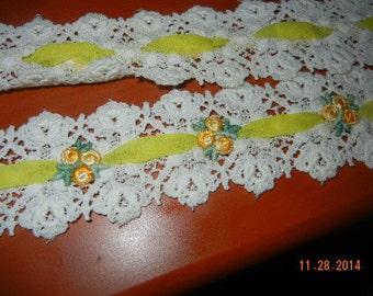 Beautiful Vintage lace trim