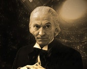 William Hartnell Doctor Who Geekograph Limited Edition Metal Art