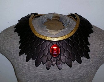 Leather Armor Dragon Scale Mantle