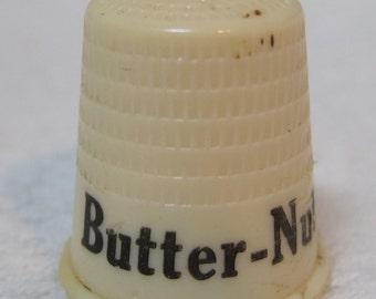 Vintage Butternut Coffee Advertising Thimble Very Nice Shape T28