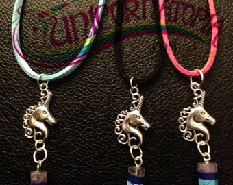 Magical Rainbow Unicorn Necklace