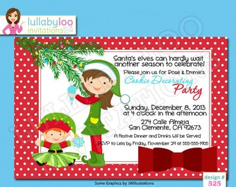 Cookie Decorating Party Invitations