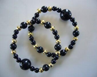 "Queasy Beads™ Motion Sickness Bracelets in ""Glistening Moon"""