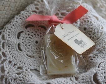 Soap Favors  - Weddings- Bridal-Baby-Showers-Vintage-Classic-Simple- Country- Belle Savon Vermont