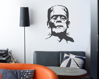 Frankenstein - Monster - Halloween - Vinyl Wall Decal Sticker