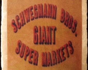 Schwegmanns Supermarket New Orleans Coaster